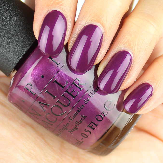 OPI I'm in the Moon for Love Swatches Review