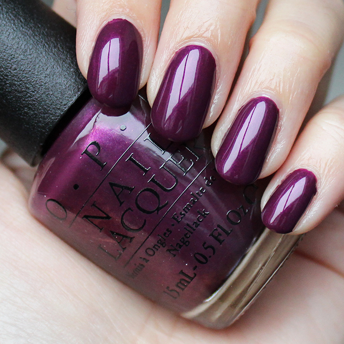 OPI I'm in the Moon for Love Swatches Swatch