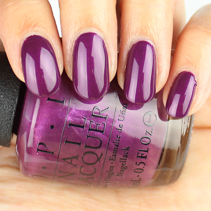 OPI I'm in the Moon for Love Swatches