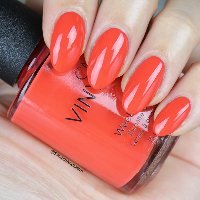 CND Rhythm and Heat Collection Swatches Mambo Beat Swatch