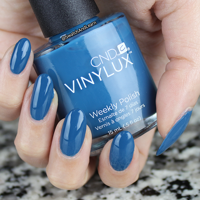 CND Splash of Teal Swatch Review