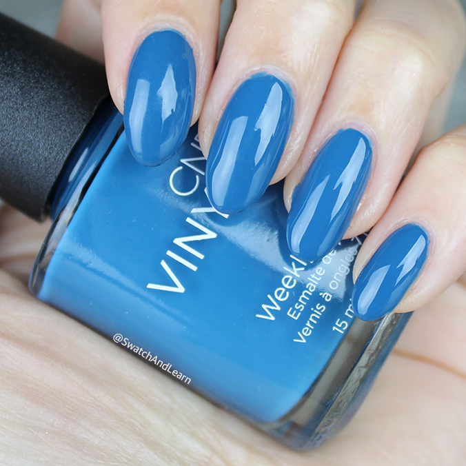 CND Splash of Teal Swatches Review