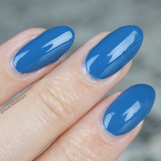 CND Splash of Teal Swatches