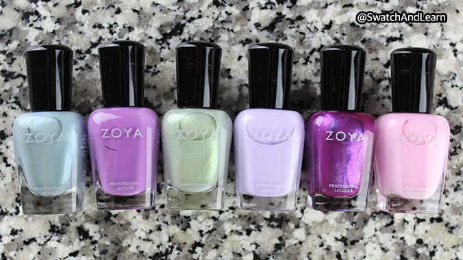 Zoya Charming Collection 2017
