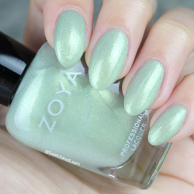 Zoya Lacey Swatch Zoya Charming Collection Swatches