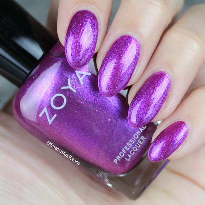 Zoya Millie Swatch Zoya Charming Collection Swatches