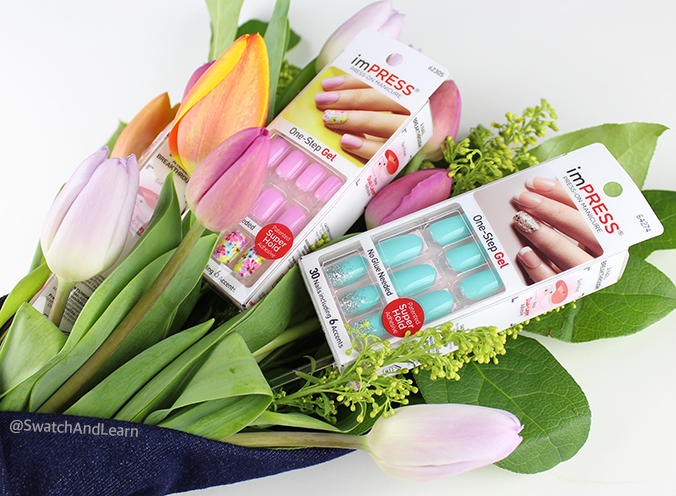 Tulips and imPRESS Nails