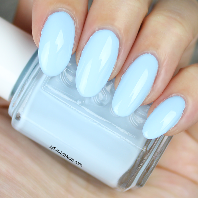 Essie Blue-La-La Swatch Essie Summer 2017 Collection Swatches