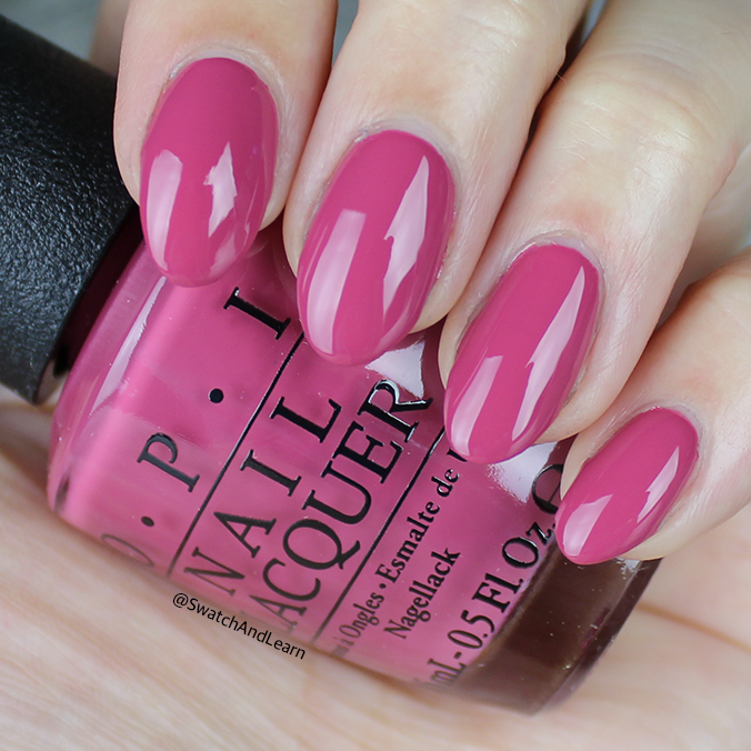 OPI Aurora Berry-alis Swatch OPI Iceland Collection Swatches