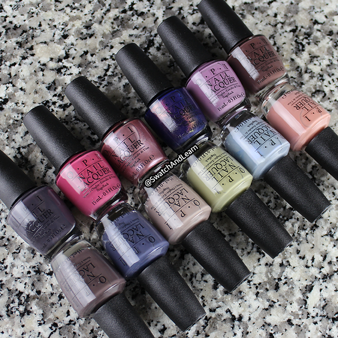 OPI Iceland 2017 Collection