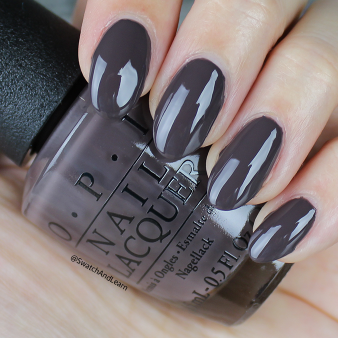 OPI Krona-logical Order Swatch OPI Iceland Collection Swatches