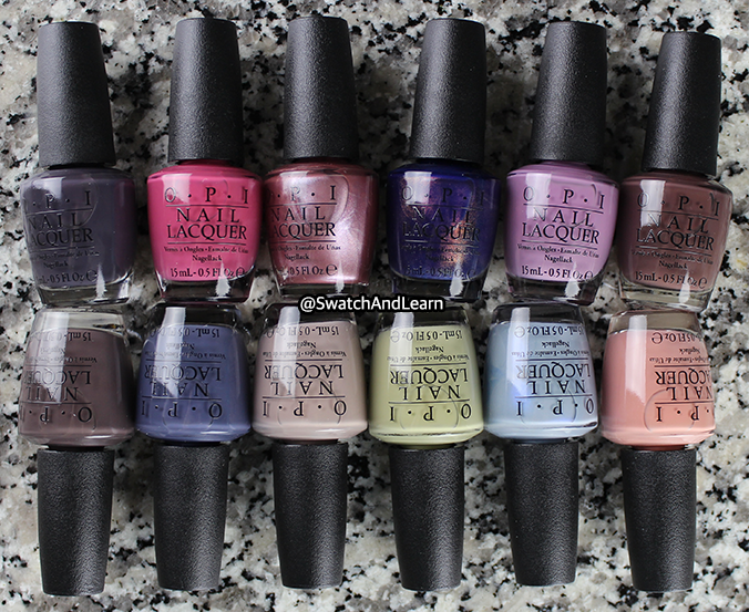 OPI Nail Polish Iceland Collection 2017