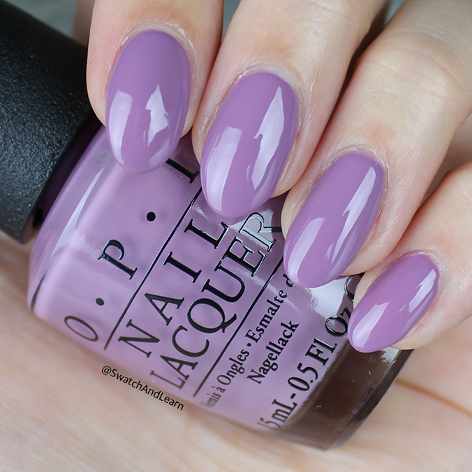 OPI One Heckla of a Color Swatch OPI Iceland Collection Swatches