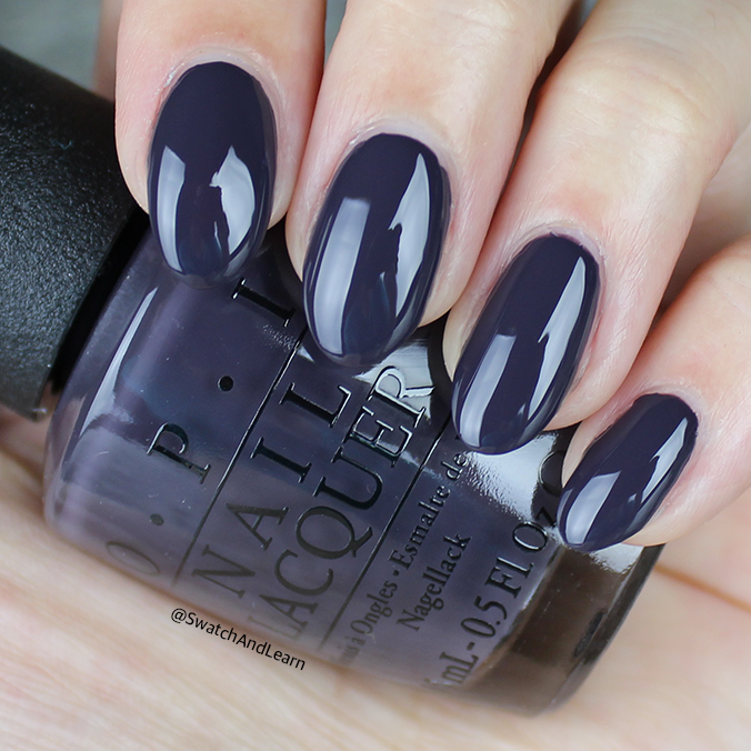 OPI Suzi & the Arctic Fox Swatch OPI Iceland Collection Swatches