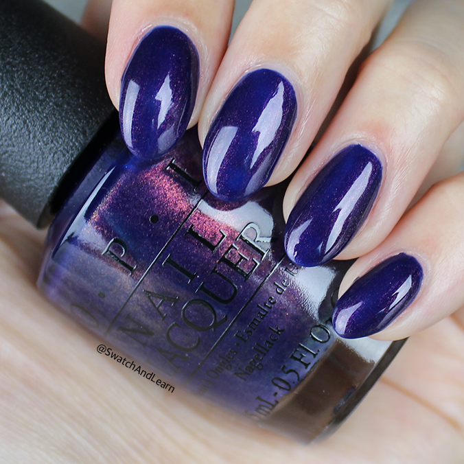OPI Turn on the Northern Lights Swatch OPI Iceland Collection Swatch