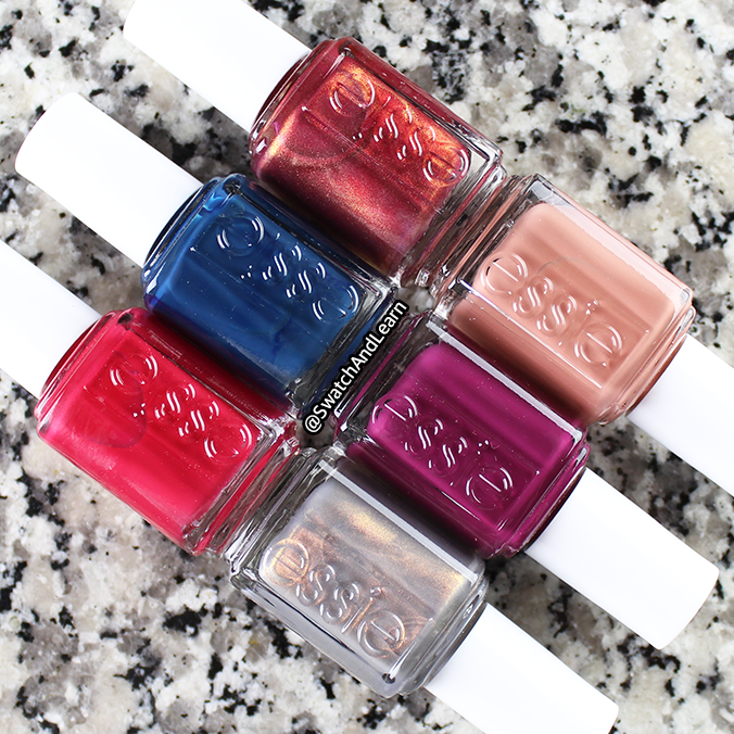Essie Winter Collection 2017 Swatches Review