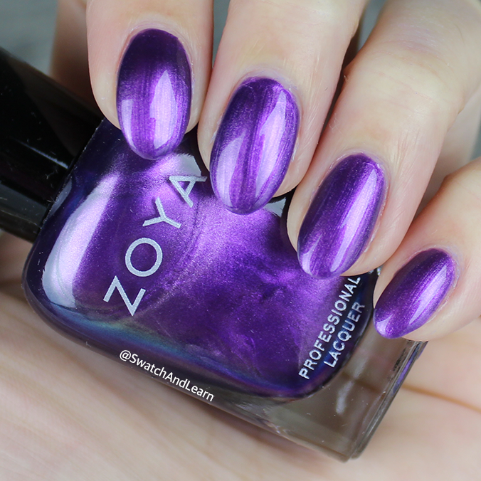 Zoya Delaney Swatch Zoya Party Girls Collection Swatches