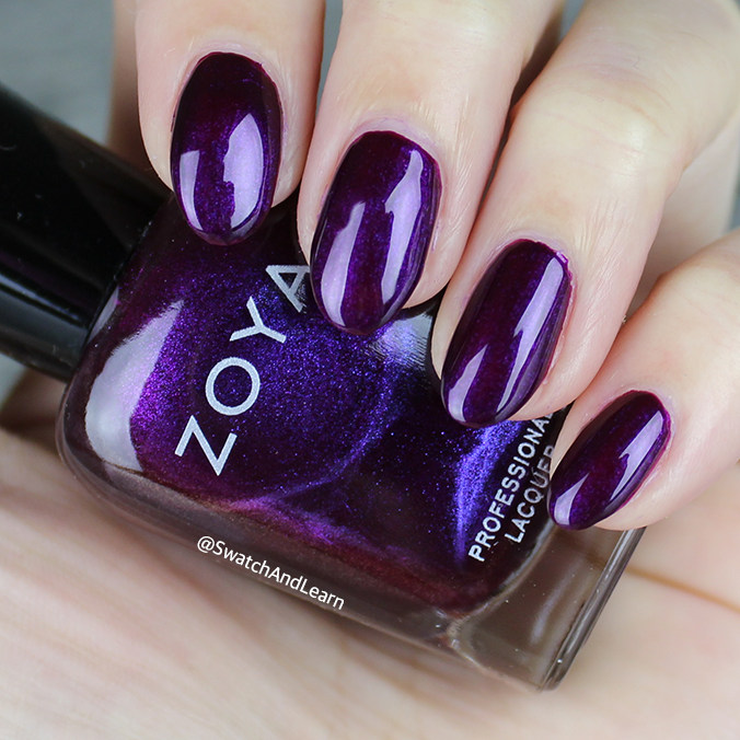 Zoya Isadora Swatch Zoya Party Girls Collection Swatches