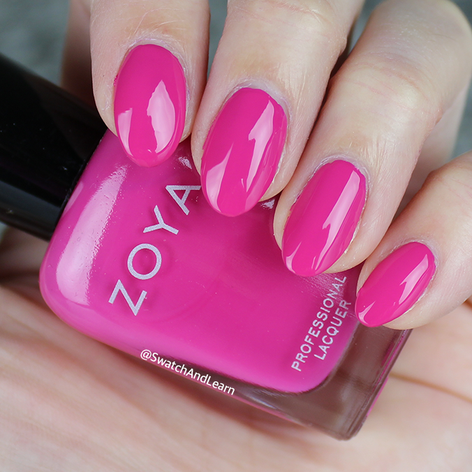Zoya Kelsey Swatch Zoya Party Girls Collection Swatches