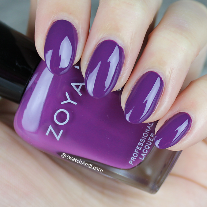 Zoya Landon Swatch Zoya Party Girls Collection Swatches