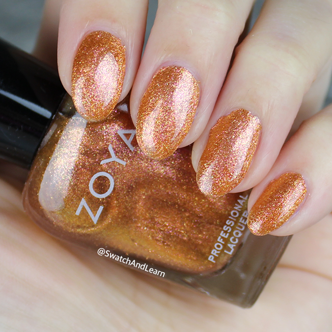 Zoya Nadia Swatch Zoya Party Girls Collection Swatches