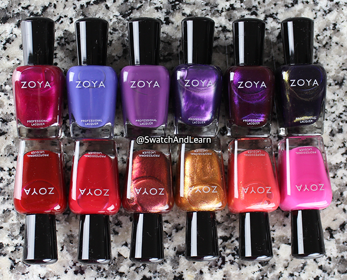 Zoya Party Girls Collection Nail Polish