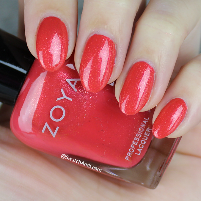 Zoya Solstice Swatch Zoya Party Girls Collection Swatches