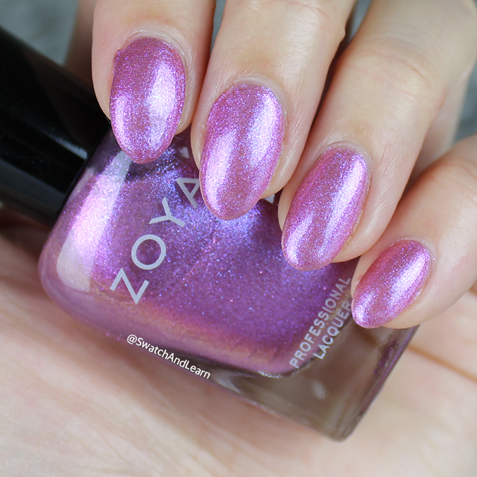 Zoya Leisel Swatch Zoya Thrive Collection Swatches