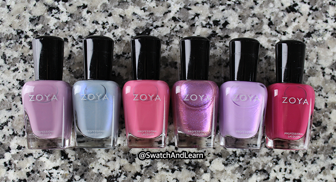 Zoya Thrive Collection 2018