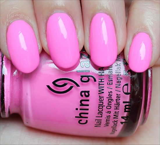 China Glaze Bottoms Up Swatch & Review