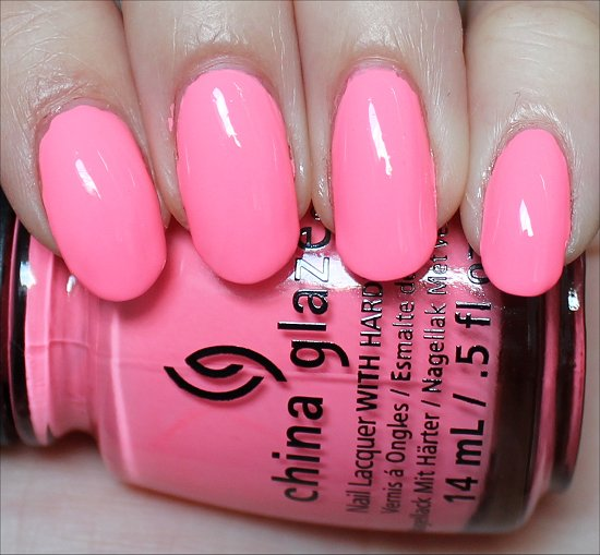 China Glaze Neon & On & On Review & Swatch