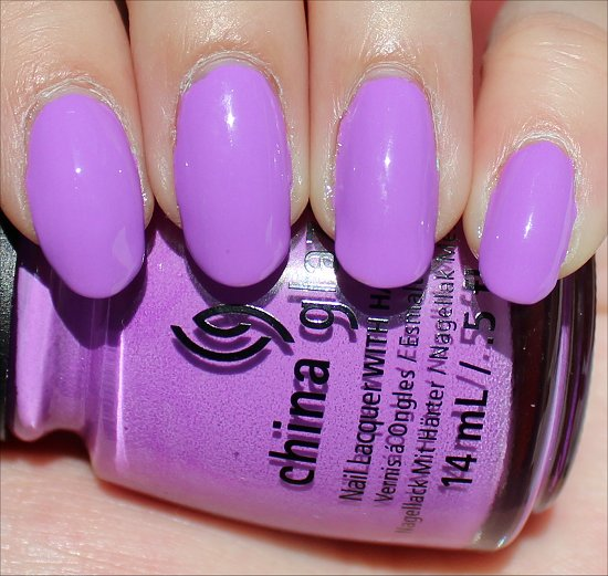 China Glaze That's Shore Bright Review & Swatch