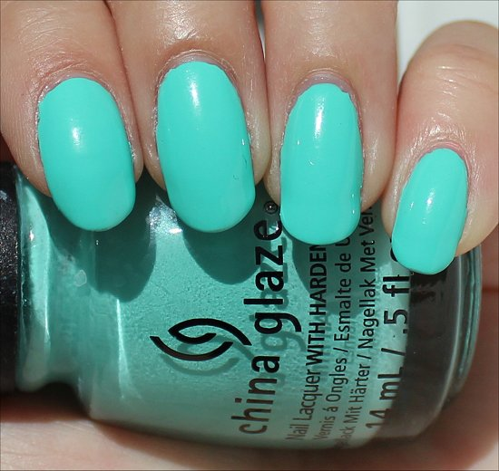 China Glaze Too Yacht to Handle Review & Swatch