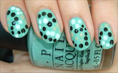 Dot Nail Art Tutorial & Swatch