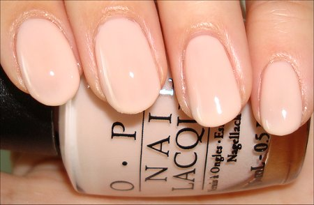 Mannequin Hands OPI Bubble Bath