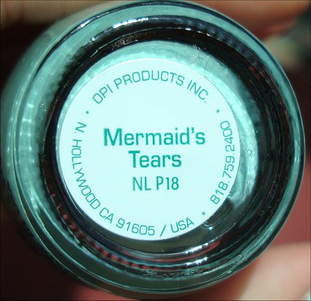 Mermaid's Tears OPI Pirates of the Caribbean Collection Swatches & Review