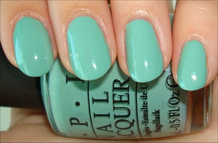 Mermaids Tears OPI Review & Swatch