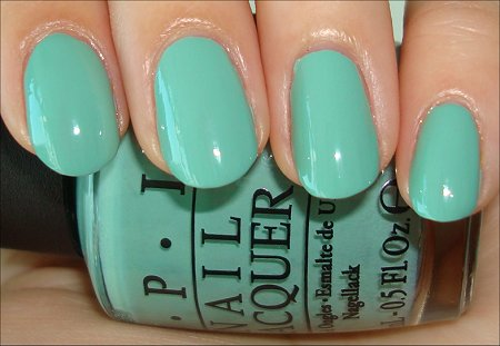Mermaid's Tears OPI Swatches & Review