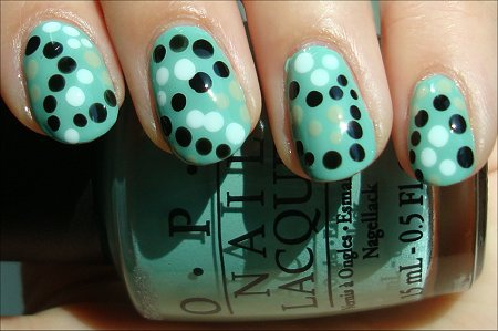 Nail Art Using a Dotting Tool Nail Art Tutorial