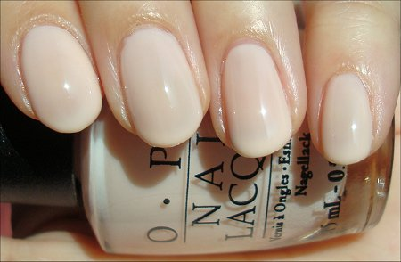 OPI Bubble Bath Mannequin Hands Polish