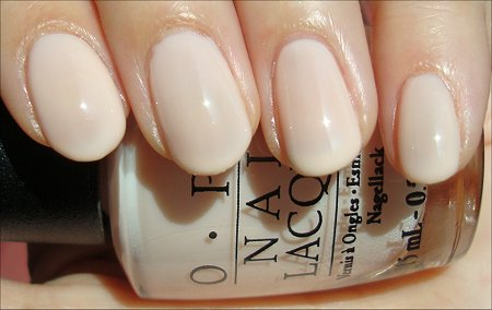 OPI Bubble Bath Nude Nail Polish Swatches & Review
