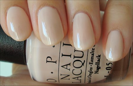 OPI Bubble Bath Nude Nail Polish