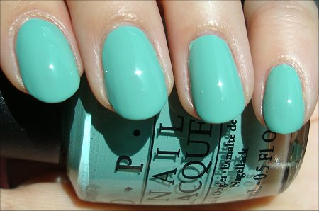OPI Mermaid's Tears Review & Swatches