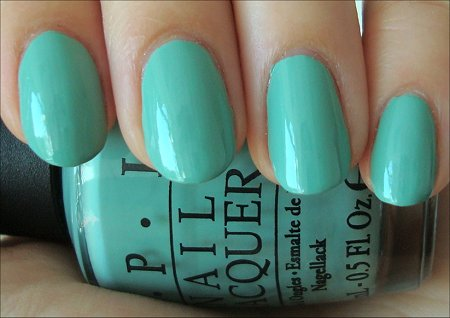 OPI Mermaids' Tears Review & Swatches