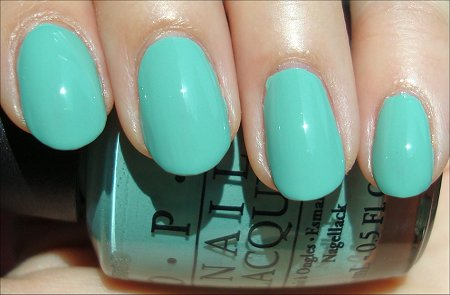 OPI Mermaid's Tears Swatch & Review