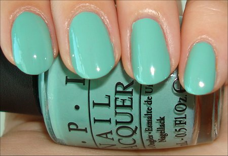 OPI Mermaids' Tears Swatch & Review