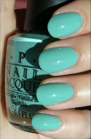 OPI Mermaid's Tears Swatches & Review