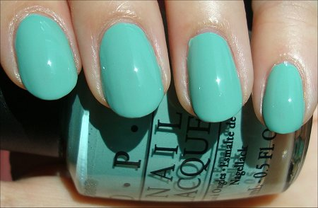OPI Mermaids Tears Swatches & Review