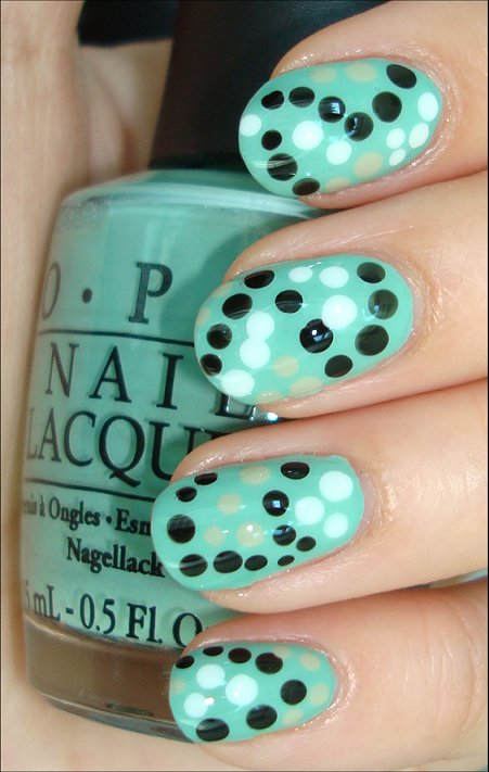Seeing Spots Nail Art Swatches & Tutorial