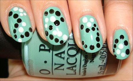 Seeing Spots Nail Art Tutorial Step 2